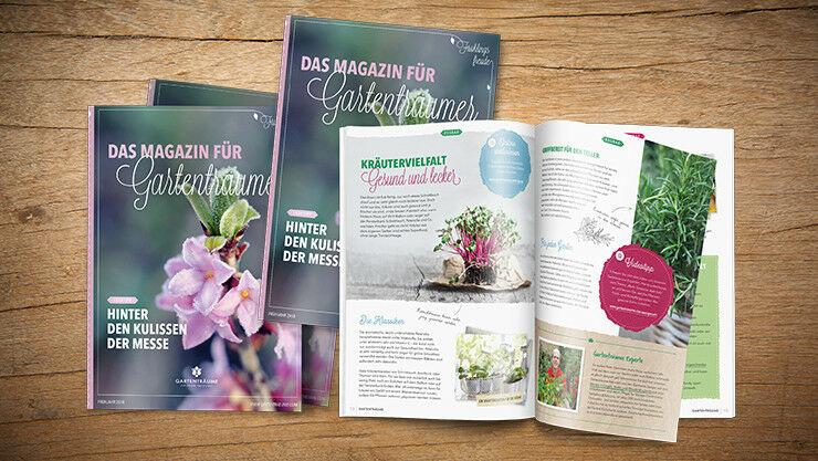 Das Magazin für Gartenträumer
